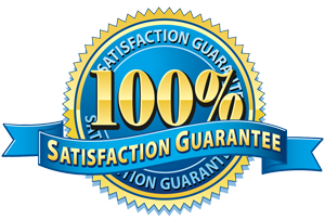 Carpet Cleaning Customer Guarantee Seal