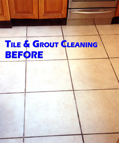 Tile and Grout Cleaning In Troy Michigan (BEFORE)